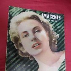 Cine: REVISTA DE CINE IMAGENES. Nº 136. 1955. GRACE KELLY. GANADORA DEL OSCAR. Lote 109049063