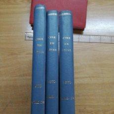 CINE EN 7 DIAS-TRES TOMOS AÑO 1970- REVISTAS DEL Nº456 AL Nº507.VER FOTOS AÑO 1970.