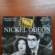 Cine: NICKEL ODEON NÚMERO 6 PRIMAVERA 1997 SCREWBALL COMEDIES. Lote 109163652