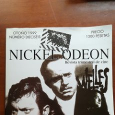 Cine: NICKEL ODEON NÚMERO 16 ORSON WELLES 1999. Lote 109163970