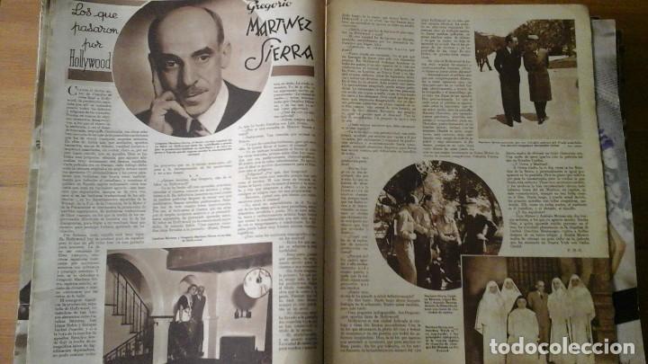Cine: Lote de 63 revistas CINEGRAMAS n°11 al 93. Numeros sueltos. Año 1934-1936 - Foto 4 - 109239335