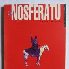 Cine: REVISTA DE CINE NOSFERATU. NÚMERO 24. MAYO 1997. THEO ANGELOPOULOS. . Lote 109272823