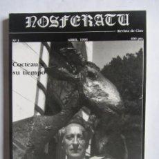 Cine: REVISTA DE CINE NOSFERATU. NÚMERO 3. ABRIL 1990. COCTEAU Y SU TIEMPO.. Lote 166798053