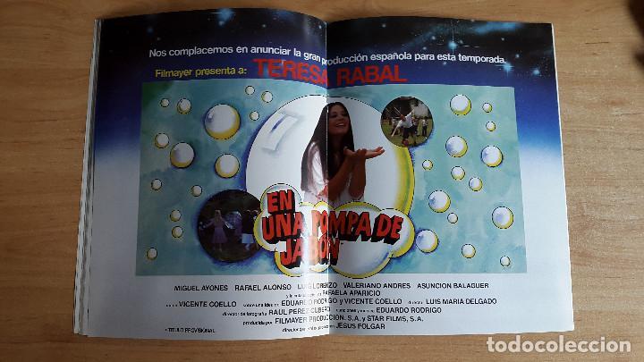 Cine: revista cine - cinematografica española - las aventuras de zipi y zape - sean connery - teresa rabal - Foto 6 - 109336551