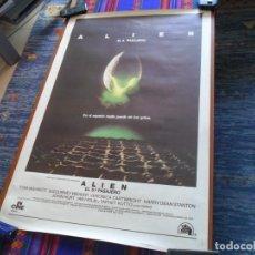 Cine: CARTEL ALIEN EL 8º OCTAVO PASAJERO SIGOURNEY WEAVER RIDLEY SCOTT EN ESPAÑOL 100X66 CMS. BUEN ESTADO.. Lote 109340483