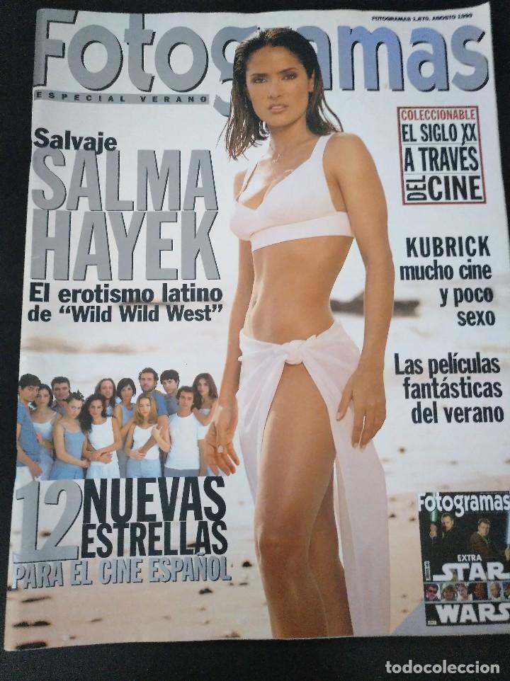 FOTOGRAMAS 1870 AGOSTO 1999 SALMA HAYEK (Cine - Revistas - Fotogramas)