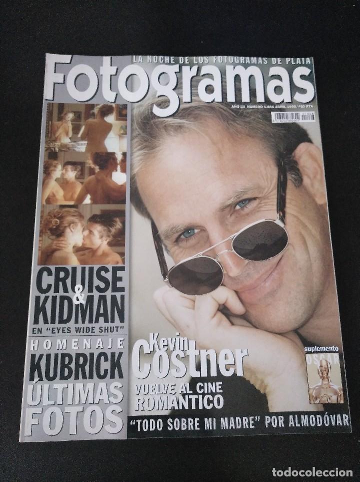 FOTOGRAMAS 1866 ABRIL 1999 KEVIN COSTNER (Cine - Revistas - Fotogramas)