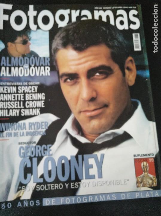FOTOGRAMAS 1878 ABRIL 2000 GEORGE CLOONEY (Cine - Revistas - Fotogramas)
