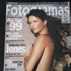Cine: FOTOGRAMAS 1876 ENERO 2000 CATHERINE ZETA JONES. Lote 109347891