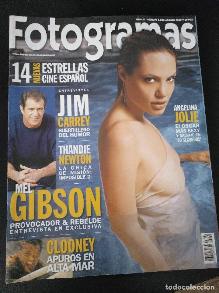 FOTOGRAMAS 1882 AGOSTO 2000 ANGELINA JOLIE (Cine - Revistas - Fotogramas)