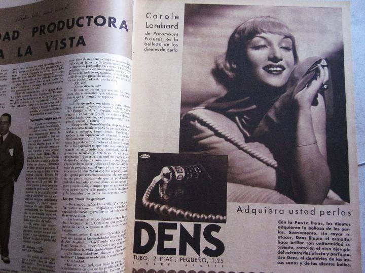 Cine: 5 Revistas Cinegramas Greta Garbo, Shirley Temple, Ginger Rogers, Imperio Argentina,Claudette Colber - Foto 6 - 109369959