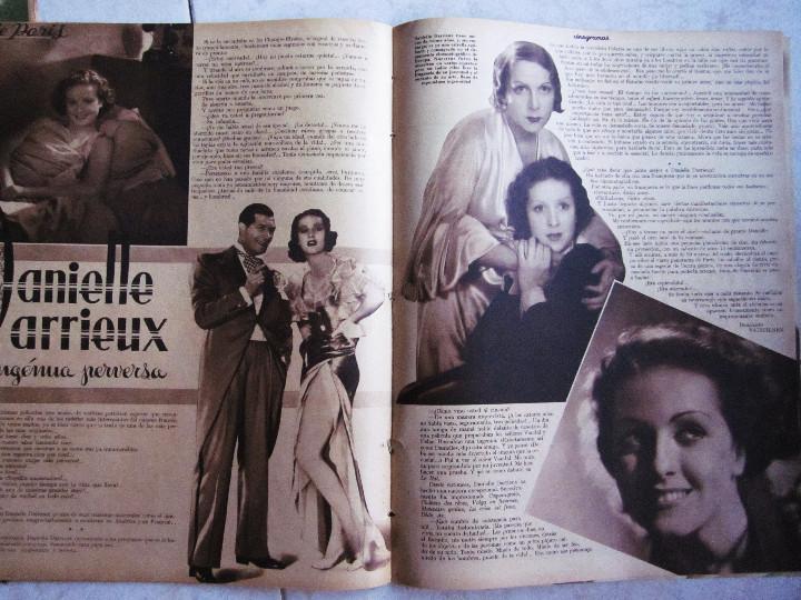 Cine: 5 Revistas Cinegramas Greta Garbo, Shirley Temple, Ginger Rogers, Imperio Argentina,Claudette Colber - Foto 7 - 109369959