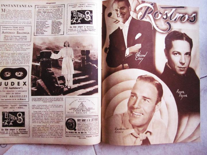 Cine: 5 Revistas Cinegramas Greta Garbo, Shirley Temple, Ginger Rogers, Imperio Argentina,Claudette Colber - Foto 9 - 109369959