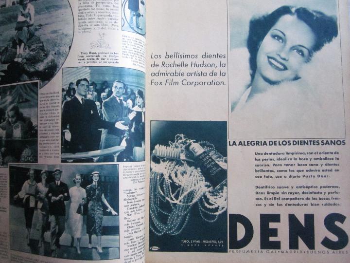 Cine: 5 Revistas Cinegramas Greta Garbo, Shirley Temple, Ginger Rogers, Imperio Argentina,Claudette Colber - Foto 12 - 109369959