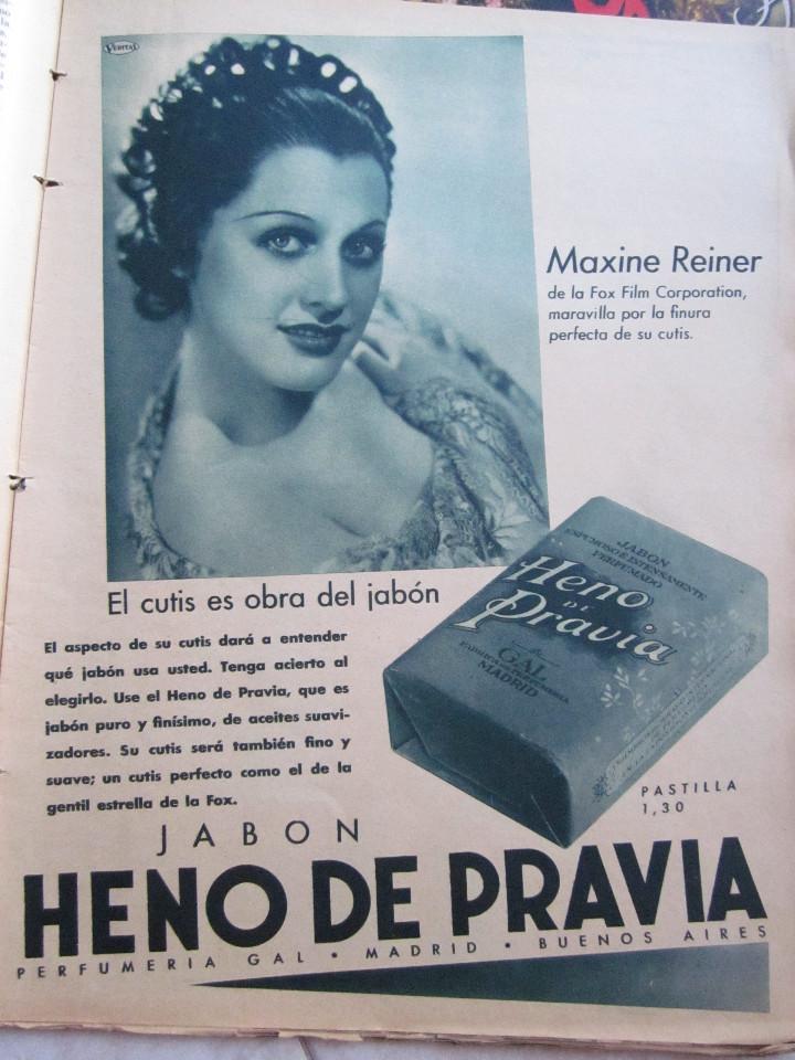 Cine: 5 Revistas Cinegramas Greta Garbo, Shirley Temple, Ginger Rogers, Imperio Argentina,Claudette Colber - Foto 17 - 109369959