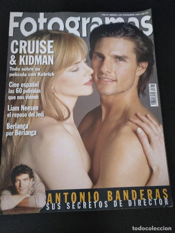 FOTOGRAMAS 1871 SEPTIEMBRE 1999 CRUISE Y KIDMAN (Cine - Revistas - Fotogramas)
