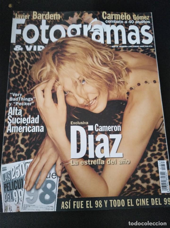 FOTOGRAMAS 1863 ENERO 1999 CAMERON DIAZ (Cine - Revistas - Fotogramas)