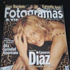 Cine: FOTOGRAMAS 1863 ENERO 1999 CAMERON DIAZ. Lote 109401339