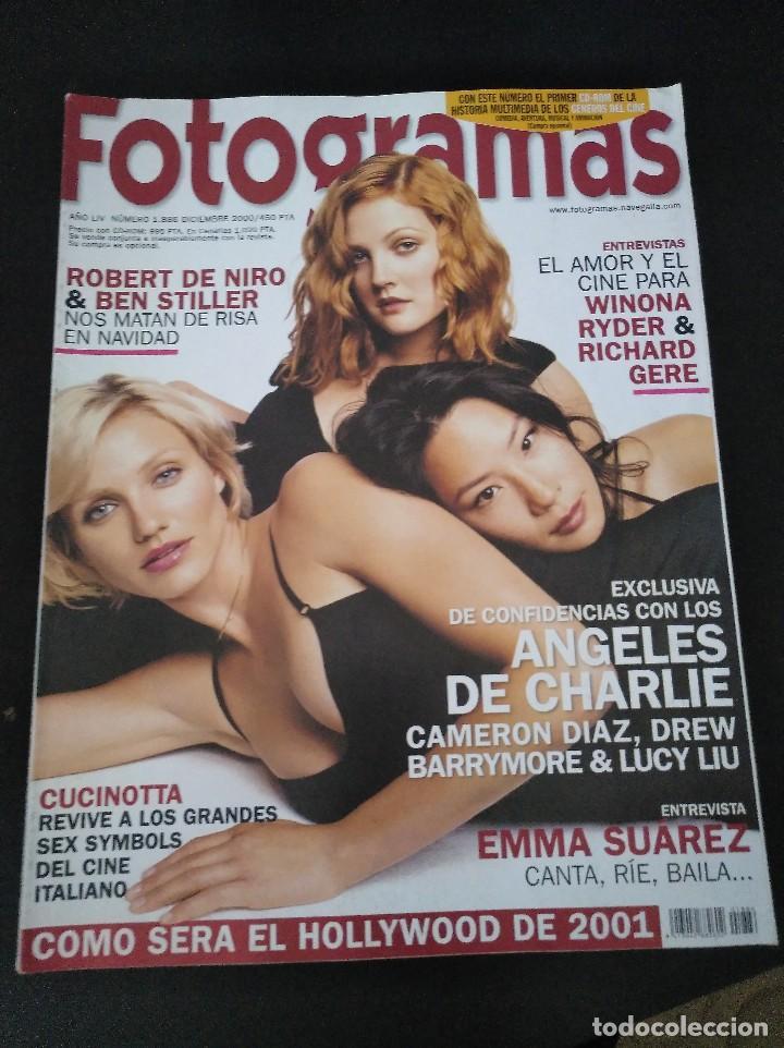 FOTOGRAMAS 1886 DICIEMBRE 2000 (Cine - Revistas - Fotogramas)
