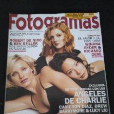 Cine: FOTOGRAMAS 1886 DICIEMBRE 2000 . Lote 109402371