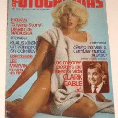 Cine: FOTOGRAMAS #1596 1979 AGATA LYS NADIUSKA KLAUS KINSKI CLARK GABLE ORNELLA MUTI REVISTA MAGAZINE. Lote 109415279