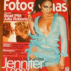 Cine: FOTOGRAMAS #1894 2001 JENNIFER LOPEZ SEXY JULIA ROBERTS ANA TORRENT PAZ VEGA HEATHER GRAHAM. Lote 109415375