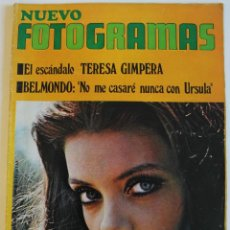 Cine: FOTOGRAMAS #1095 1969 PATTY SHEPARD SOLEDAD MIRANDA FLORINDA BOLKAN CATHERINE DENEUVE ROMINA POWER. Lote 109415415