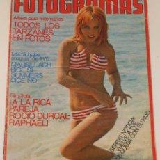 Cine: FOTOGRAMAS 1974 FRANK ZAPPA ROCIO DURCAL DUSTIN HOFFMAN VICTORIA VERA TARZAN DAVID BOWIE. Lote 109415459