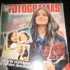 Cine: FOTOGRAMAS Nº 1628 ENERO 1980 - DUSTIN HOFFMAN / PAULA MOLINA/WOODY ALLEN/POSTER CLAUDIA CARDIANALE. Lote 109462107