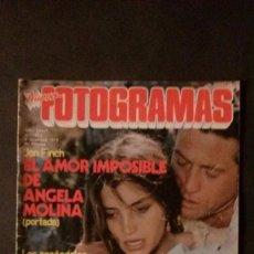 Cine: FOTOGRAMAS 1622-1979-URSULA ANDRESS-ANGELA MOLINA-GERALDINE CHAPLIN-RAQUEL WELCH-MALCOLM MCDOWELL. Lote 109462775