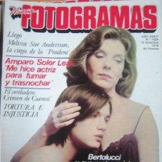 Cine: FOTOGRAMAS Nº 1624 AÑO 1979 - MELISSA SUE ANDERSSON - AMPARO SOLER - BERTOLUCCI . Lote 109463299