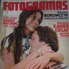 Cine: NUEVO FOTOGRAMAS Nº 1557. 18 AGOSTO 1978. NADIA WINDELL, SUSAN SAINT-JAMES... Lote 109463807