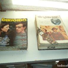 Dirigido por... Año 1.972. Lote de 44. Revistas Agotadas son muy dificil de Conseguir.