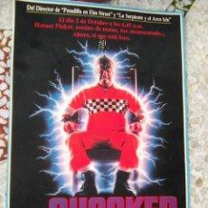Cine: SHOCKER + LOS RENEGADOS - POSTER REVERSIBLE RECORTE REVISTA 21,30 POR 16 CMS. Lote 109536127