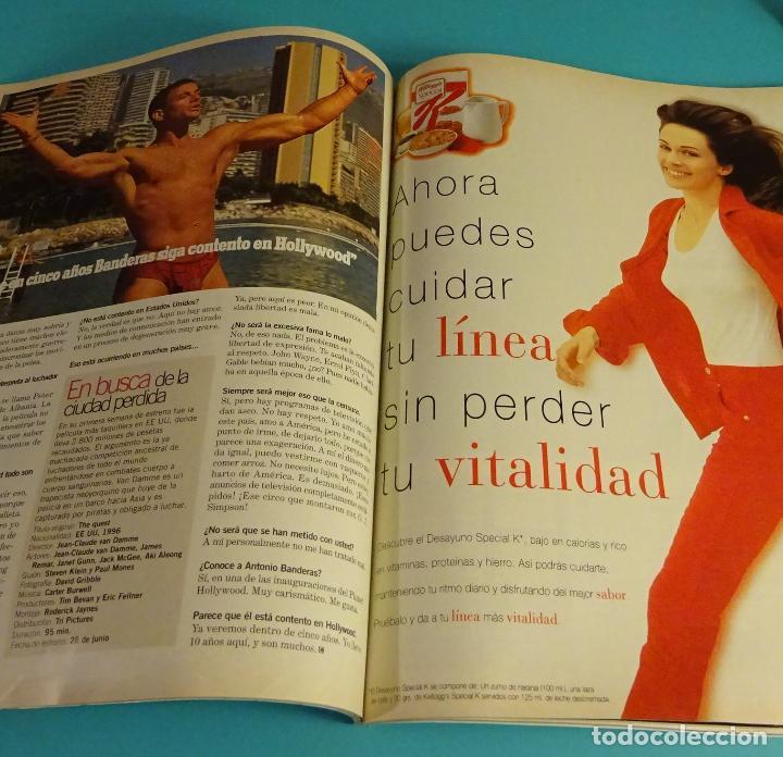 Cine: CINEMANIA. Nº 10. 1996. ANDY GARCIA. TOM CRUISE. MR. BEAN. VAN DAMME - Foto 3 - 23027584