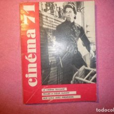 Cine: CINEMA 71 N 156 FEDERICO FELLINI FRECH / FRANÇAISE J. Lote 110384183