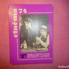 Cine: CINEMA 74 Nº 187 MAI PAUL NEWMAN ROBERT REDFORD FRECH / FRANÇAISE J. Lote 110621555