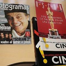 Cine: FOTOGRAMAS Nº 1854 CON SUPLEMENTOS OSCARS 1997 CARPETA Y COLECCIONABLE ENCICLOPEDIA CINE. Lote 110729027