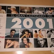 Cine: GRAN CALENDARIO FOTOGRAMAS 2001. Lote 110751907