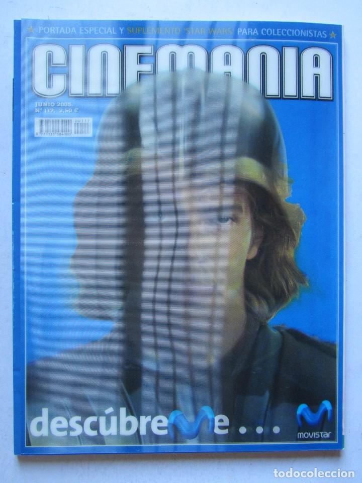 Cine: CINEMANÍA.LOTE STAR WARS COLECCIONABLE + NÚMS. 80, 116, 117 (PORTADA HOLOGRAMA) +SUPLEMENTOS 79 -80 - Foto 2 - 110893515