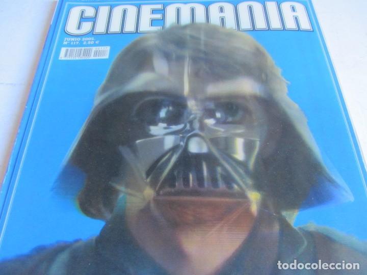 Cine: CINEMANÍA.LOTE STAR WARS COLECCIONABLE + NÚMS. 80, 116, 117 (PORTADA HOLOGRAMA) +SUPLEMENTOS 79 -80 - Foto 4 - 110893515