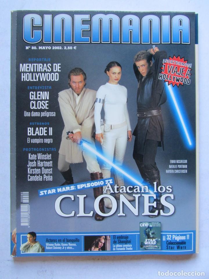 Cine: CINEMANÍA.LOTE STAR WARS COLECCIONABLE + NÚMS. 80, 116, 117 (PORTADA HOLOGRAMA) +SUPLEMENTOS 79 -80 - Foto 7 - 110893515
