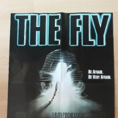 Cinéma: POSTER THE FLY LA MOSCA DAVID CRONENBERG JEFF GOLDBLUM THE AVENGERS INFINITY. Lote 110935435