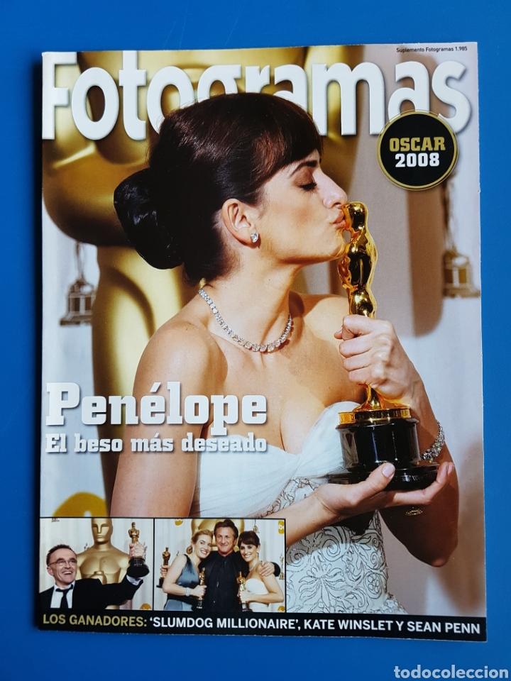 OSCAR 2008 - PENELOPE CRUZ + JERRY LEWIS + HEATH LEDGER - SUPLEMENTO FOTOGRAMAS 1985 (Cine - Revistas - Fotogramas)