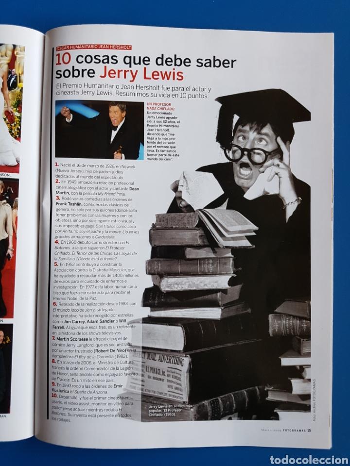 Cine: OSCAR 2008 - PENELOPE CRUZ + JERRY LEWIS + HEATH LEDGER - SUPLEMENTO FOTOGRAMAS 1985 - Foto 2 - 111459383