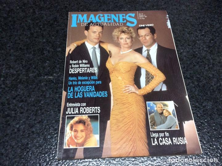 IMAGENES DE ACTUALIDAD Nº 91 MARZO 1991. (Cine - Revistas - Imágenes de la actualidad)