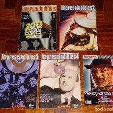 Cine: 5 REVISTAS CINE DVD LOS IMPRESCINDIBLES FOTOGRAMAS GUIA EL CORTE INGLES TERROR. Lote 111548563