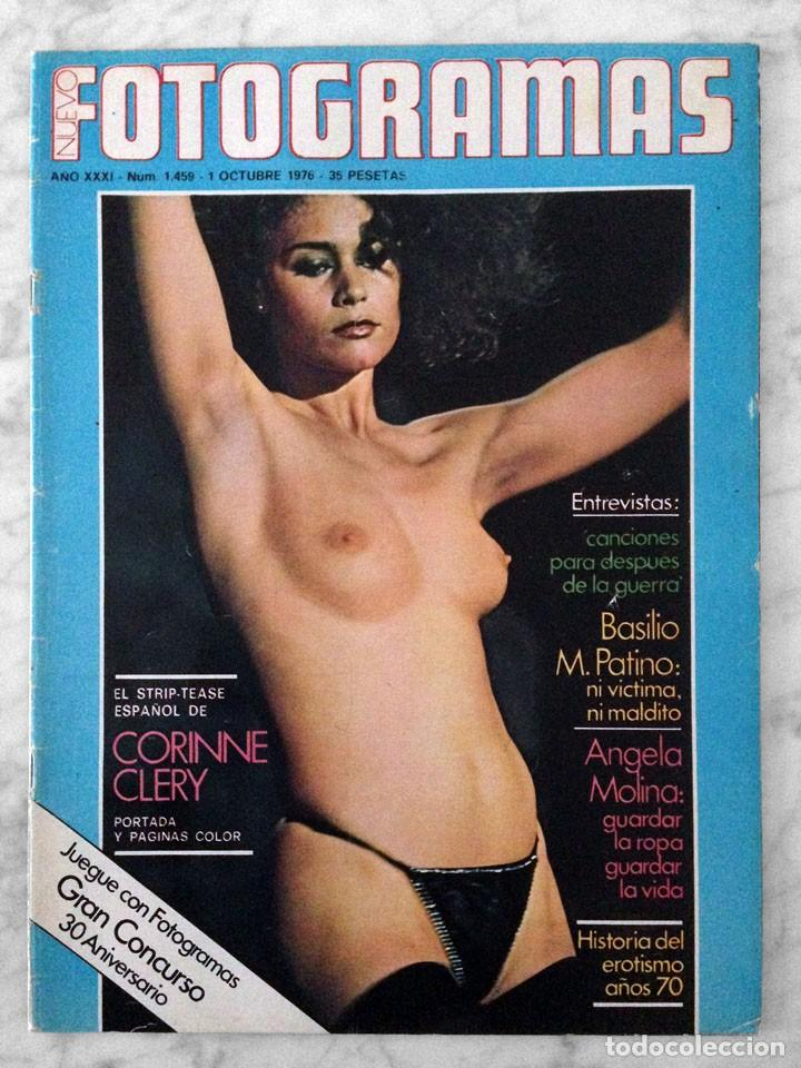 FOTOGRAMAS - Nº 1459 - 1976 - CORINNE CLÉRY, ÁNGELA MOLINA, PAULA PATTIER, CLINT EASTWOOD (Cine - Revistas - Fotogramas)