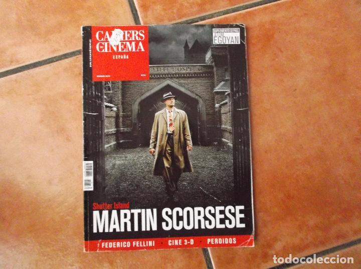 CAHIERS DU CINEMA ESPAÑA, Nº 32,FEDERICO FELLINI,MARTIN SCORSESE,ATOM EGOYAN,PERDIDOS (Cine - Revistas - Otros)
