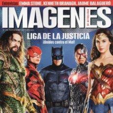 Cine: IMAGENES DE ACTUALIDAD N. 384 - EN PORTADA: LIGA DE LA JUSTICIA (NUEVA). Lote 112031303